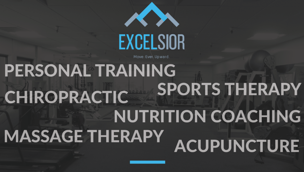 Excelsior fitness - personal training, chiropractic, sports therapy, massage, and more!